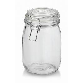 KELA Dóza skladovací IRINA sklo 1l