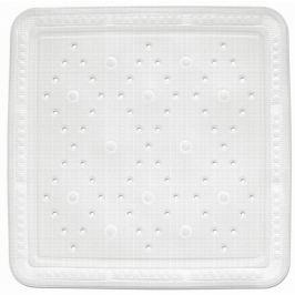KELA Sprchová podložka KRETA PVC bílá 55x55cm