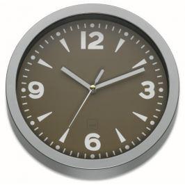 KELA Nástěnné hodiny MADRID 20 cm šedohnědá
