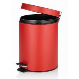 KELA Kosmetický koš MONA kov červená 5 L
