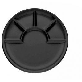 KELA Fondue talíř ARCADE černý 26cm O