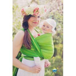 LITTLE FROG Tkaný šátek na nošení dětí - BERYL, XXL