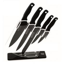 CS SOLINGEN Sada nožů s antibakteriálním povrchem ve stojanu Holton 6 ks