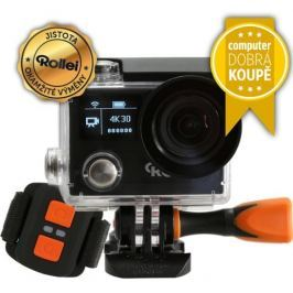 ROLLEI ActionCam 430 - 4K video 30 fps/ 1080/120 fps/ 170°/ 40m pzd./ Dál.ovl/ W