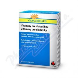 WORWAG GESUNDHAUS Vitamíny pro diabetiky tbl.90
