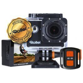 ROLLEI ActionCam 525/ 16Mpx/ 4K/25fps/ 1080/60 fps/ 160°/ 40m pzd./ DO/ Wi-Fi/ Č