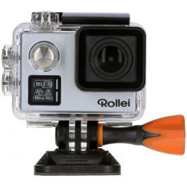 ROLLEI ActionCam 530/ 14Mpx/ 4K/30fps/ 1080/60 fps/ 170°/ 40m pzd./ DO/ Wi-Fi/ S