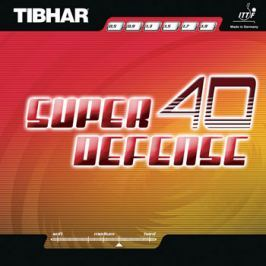 Butterfly Potah Tibhar Super Defense 40, černá, 1,9 mm