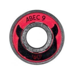 Powerslide Ložiska  WCD ABEC 9 Freespin tuba 16 ks
