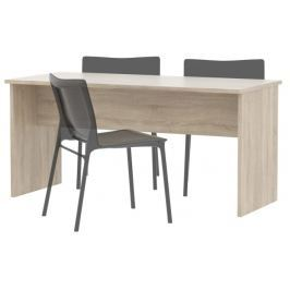 Tempo Kondela Kancelářský stůl oboustranný, dub sonoma, JOHAN 08