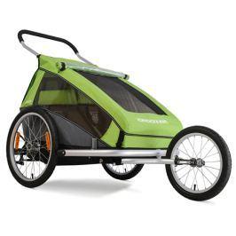 Croozer Dětský vozík  Kid FOR 2, zelená