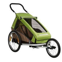 Croozer Dětský vozík  Kid For 1 Click & Crooze, zelená