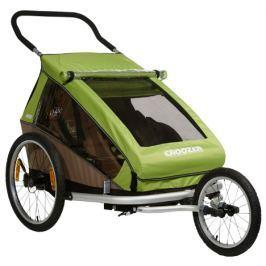 Croozer Dětský vozík  Kid For 2 Click & Crooze, zelená