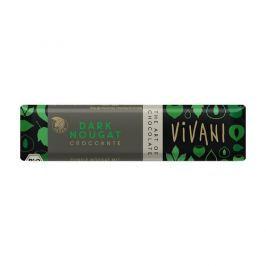 VIVANI Čokoládová tyčinka nugátová tmavá 35g - BIO