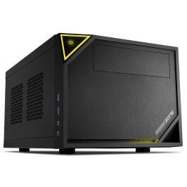 SHARKOON skříň  SHARK ZONE C10 / Mini-ITX / 2x USB3.0 /  černá