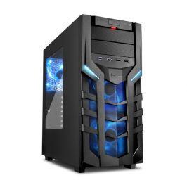 SHARKOON skříň DG7000 / Middle Tower / 2x USB3.0 / 2x USB2.0 / průhledná bočnice