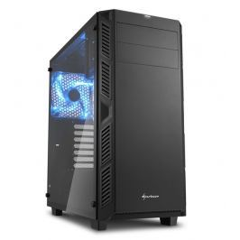 SHARKOON skříň AI7000 Glass Black / Midi Tower / ATX / 2x USB3.0 / 2x USB2.0 / p