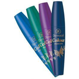 Dermacol Tvarující řasenka jedinečného odstínu (Colour Mascara) 10 ml Petrolum