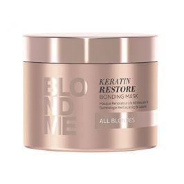 Schwarzkopf Professional Obnovující keratinová maska pro blonďaté vlasy BLONDME (Keratin Restore Bon, 200 ml