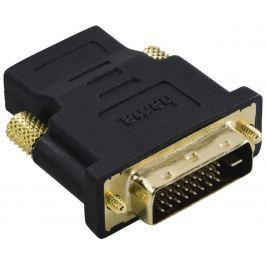 Hama redukce DVI-D vidlice - HDMI zásuvka, pozlacená