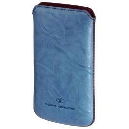 Tom Tailor Crumpled Colors pouzdro na mobil, velikost XL, tyrkysové