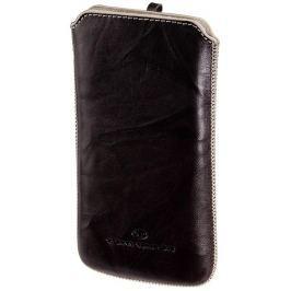 Tom Tailor Crumpled Colors pouzdro na mobil, velikost XL, hnědé