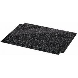 Xavax skleněné kuchyňské prkénko Granite, 52 x 40 cm, set 2 ks