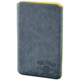 "Tom Tailor Canvas Pouch pouzdro na tablet do 25,6 cm (10,1""), světlý denim"
