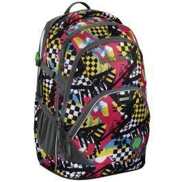 Coocazoo Školní batoh  EvverClevver2, Checkered Bolts