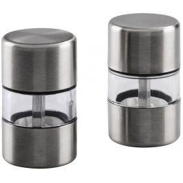 Xavax Mini mlýnek na sůl a koření, 2 ks, nerezová ocel