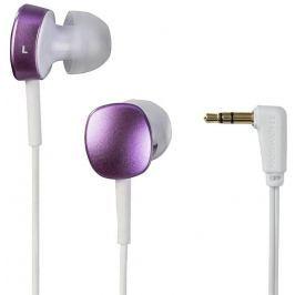 Thomson sluchátka EAR3056, silikonové špunty, růžová/bílá