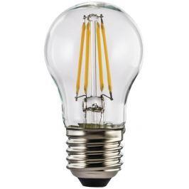 Xavax LED filament žárovka, E27, 4 W (=40 W), tvar kapky, teplá bílá