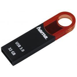 Hama FlashPen Varius USB 3.0, 32 GB, 70 MB/s, červený