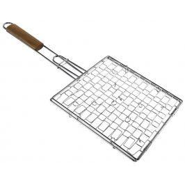 Xavax grilovací rošt s dřevěnou rukojetí, 25 x 25 cm