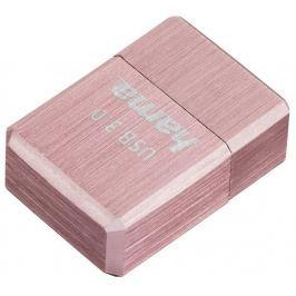 Hama FlashPen micro Cube, USB 3.0, 16 GB, 100 MB/s, růžový