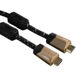 Hama Premium HDMI kabel vidlice-vidlice, 3 m, pozlacený, ferity, kovové vidlice,