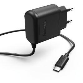 Hama síťová nabíječka 100-240 V, USB typ C, 3 A, černá