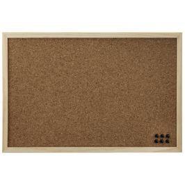 Hama korková nástěnka, 39,5x59 cm, oboustranná, dřevěná, přírodní