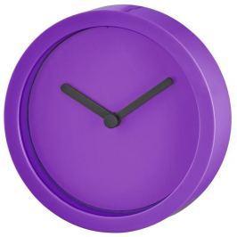 Hama Retro nástěnné hodiny, průměr 15 cm, fialové