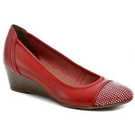 Tamaris 1-22308-26 červené dámské lodičky, 38