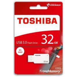 Toshiba 32GB USB Flash 3.0 U303 bílý