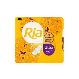 Ria Ultratenké hygienické vložky s extra savým jádrem Ultra Silk Super Plus 8 ks