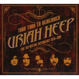 CD Uriah Heep : Your Turn to Remember (Definitive Anthology)