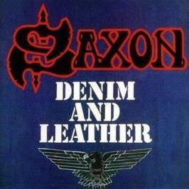 CD Saxon : Denim And Leather