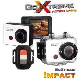 EasyPix Odolná digitální kamera  GoXtreme Impact, Full HD Action 1080p, bílá, vod