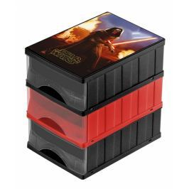 Keeeper Boxy na hračky - sada 3 šuplíků STAR WARS