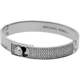 Michael Kors Ocelový pevný náramek s krystaly MKJ4903040