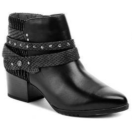 Jana 8-25321-27 černá dámská obuv šíře H, 37