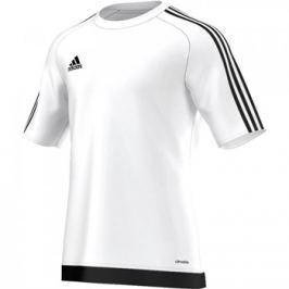 Adidas Dres  Estro 15 Boy, 152 cm, tmavě červeno-bílá