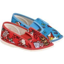Arno 555-2 barevné chlapecké papučky, 28